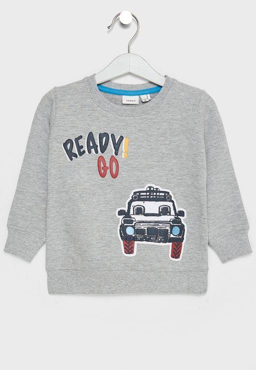 Infant Car Sweatshirt