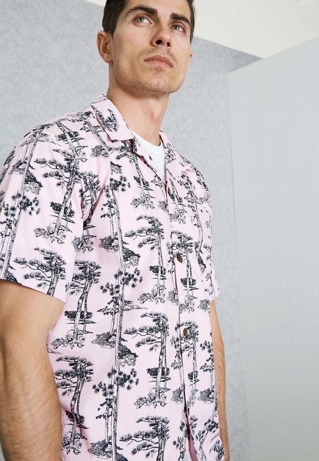 d857f658 Shop Carhartt WIP prints Pine Hawaii Shirt I022943 for Men in Kuwait ...