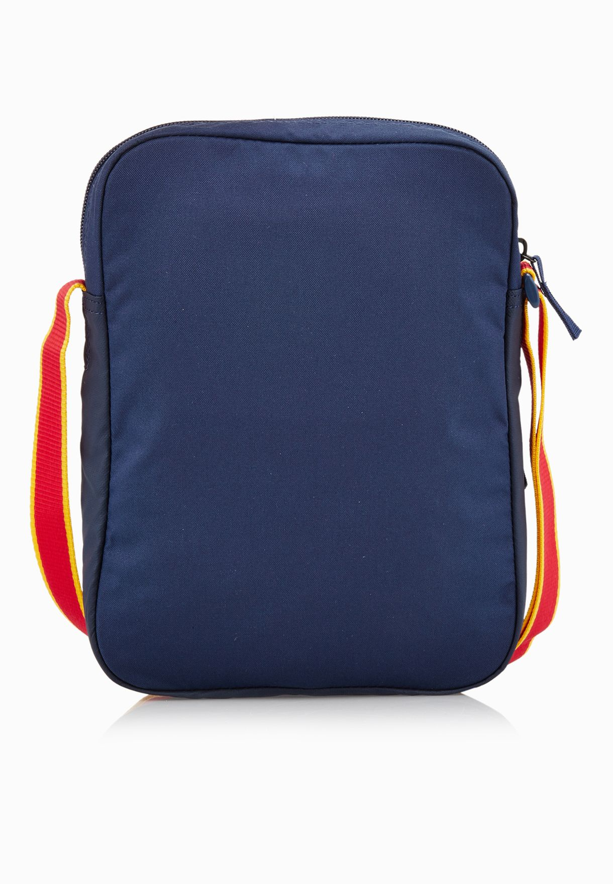 d4456a9ad03f Shop Nike navy Small FC Barcelona Messenger Bag BA5055-410 for Men ...