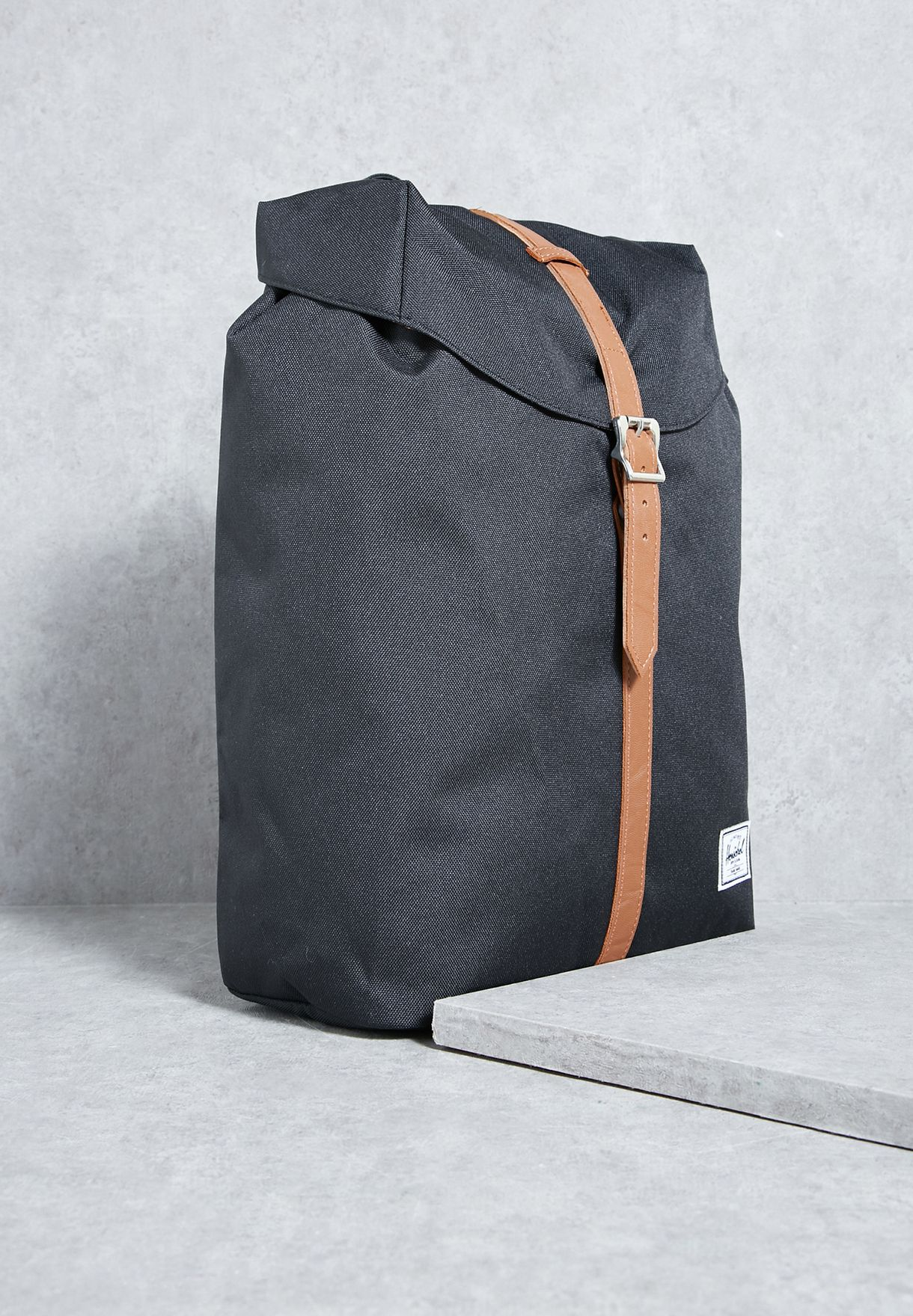 edc44569b3ab Shop Herschel black Mid-Volume Post Backpack 10021-00001-OS for Men in  Saudi - HE829AC50CJX