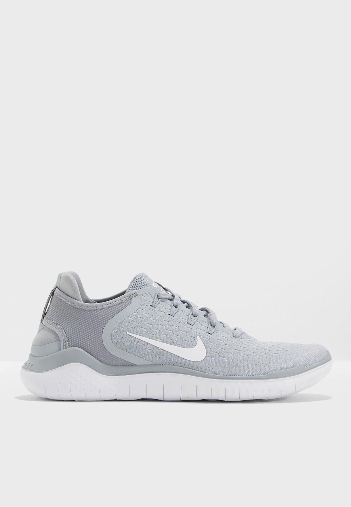 edc9de0927afe Shop Nike grey Free RN 2018 942836-003 for Men in Saudi - NI727SH50NOB