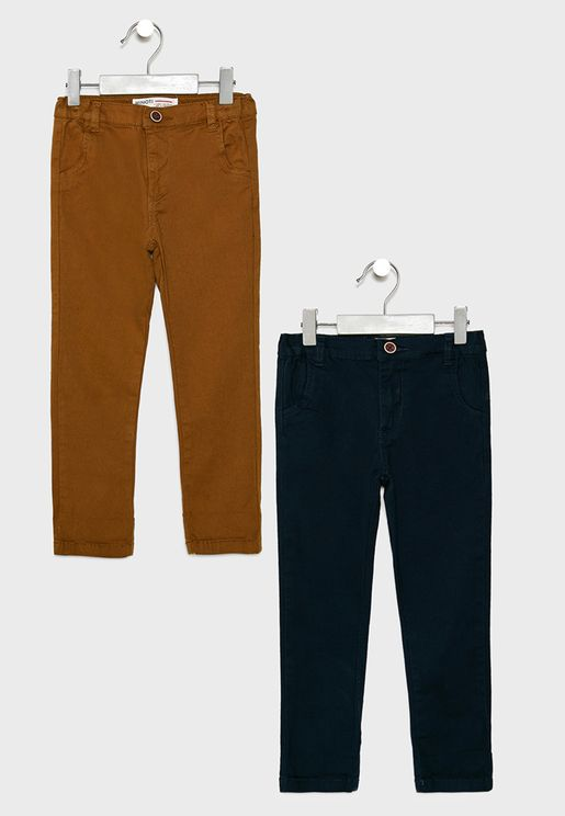 Little 2 Pack Chino Pants