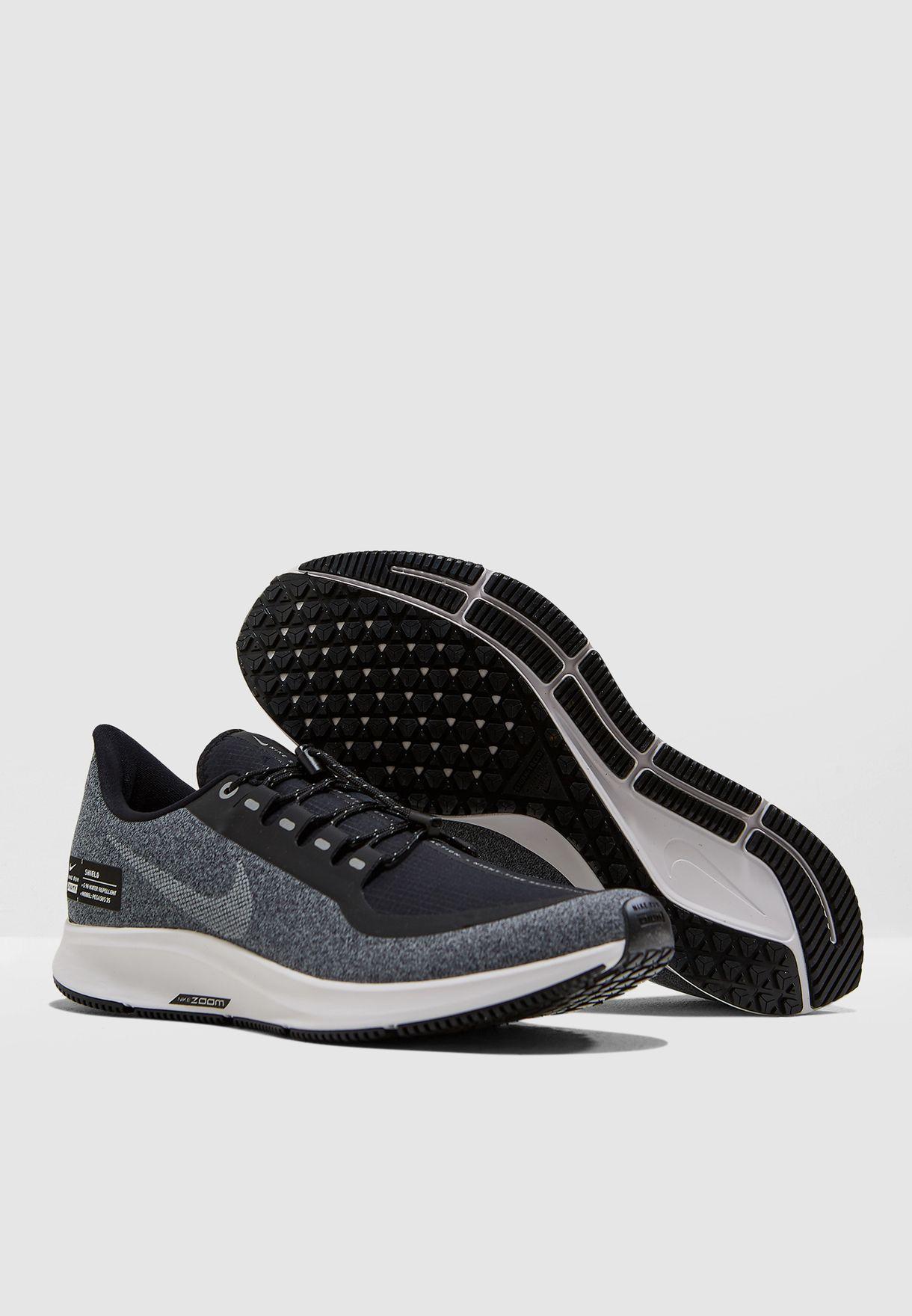 f895fb455094d Shop Nike black Air Zoom Pegasus 35 Shield AA1643-001 for Men in UAE ...