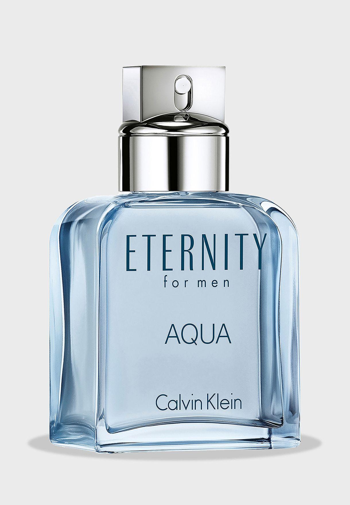 Eternity Aqua For Men Eau De Toilette 100ml