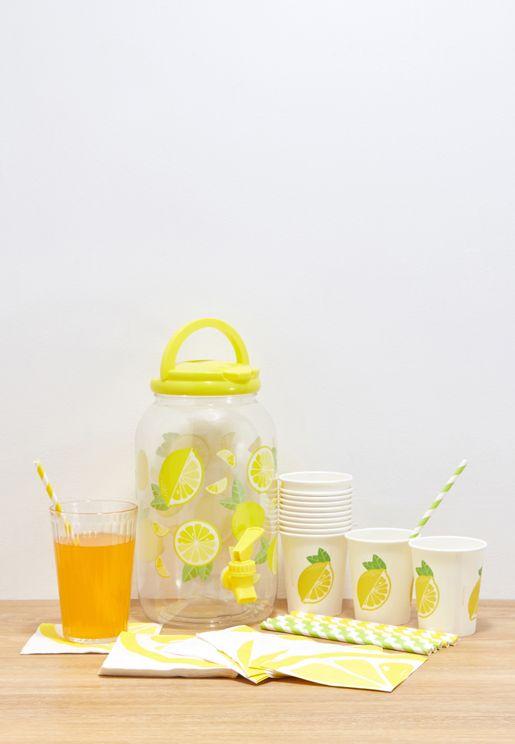 Lemonade Drink Dispenser Kit