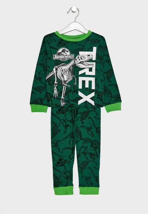 Kids Jurassic World Pyjama Set