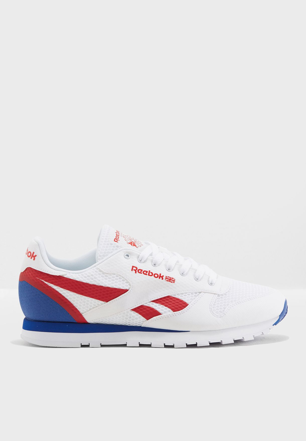 30500c90d54 Shop Reebok white CL Leather MVS CM9597 for Men in UAE - RE019SH50KCR
