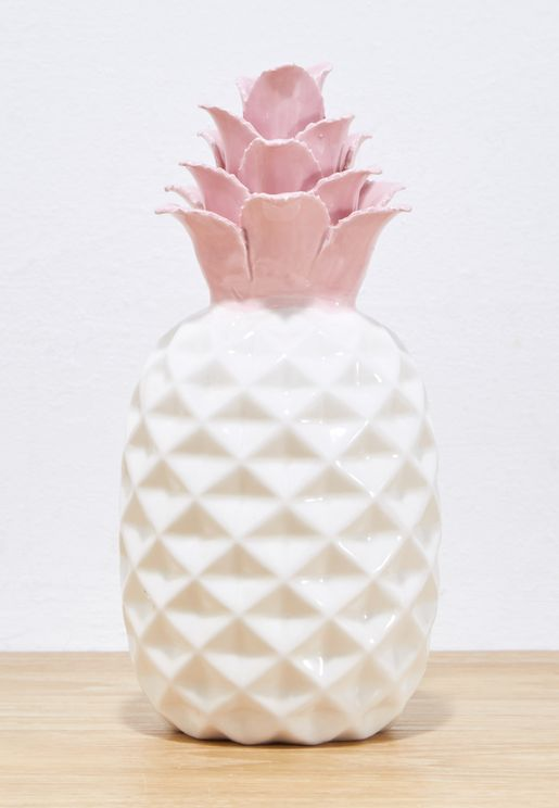 Ceramic Pineapple 19 X 9 Cm