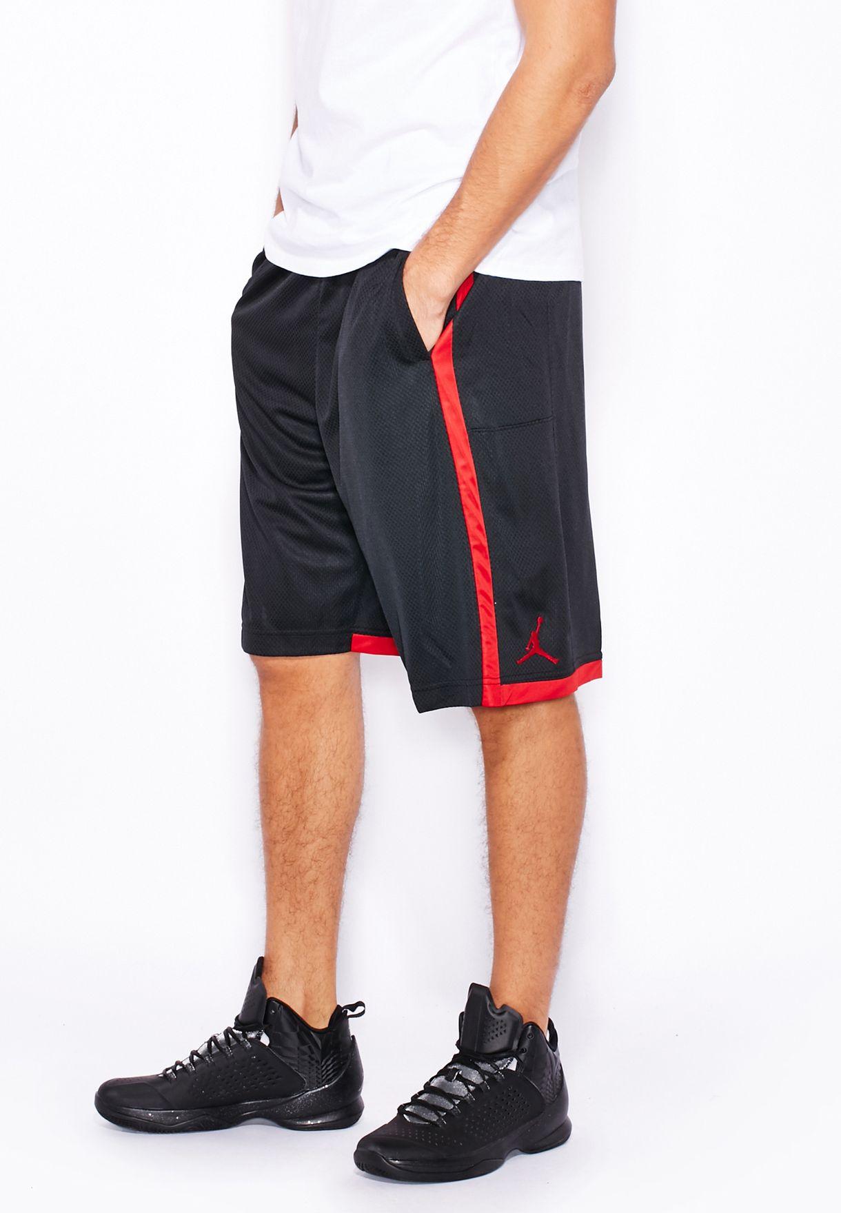 abacad391602c5 Shop Nike black Jordan Crossover Shorts 724834-011 for Men in UAE ...
