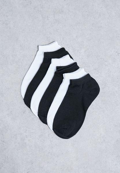 6 Pack Short Socks