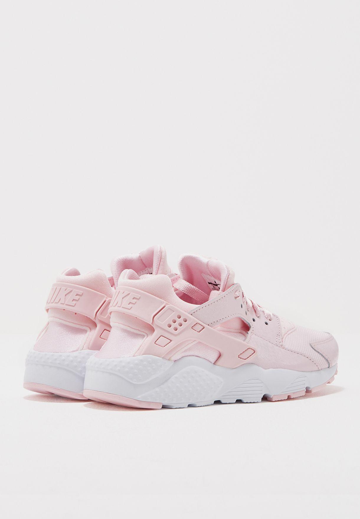 effedc74a3e5 Shop Nike pink Huarache Run Se Youth 904538-600 for Women in ...