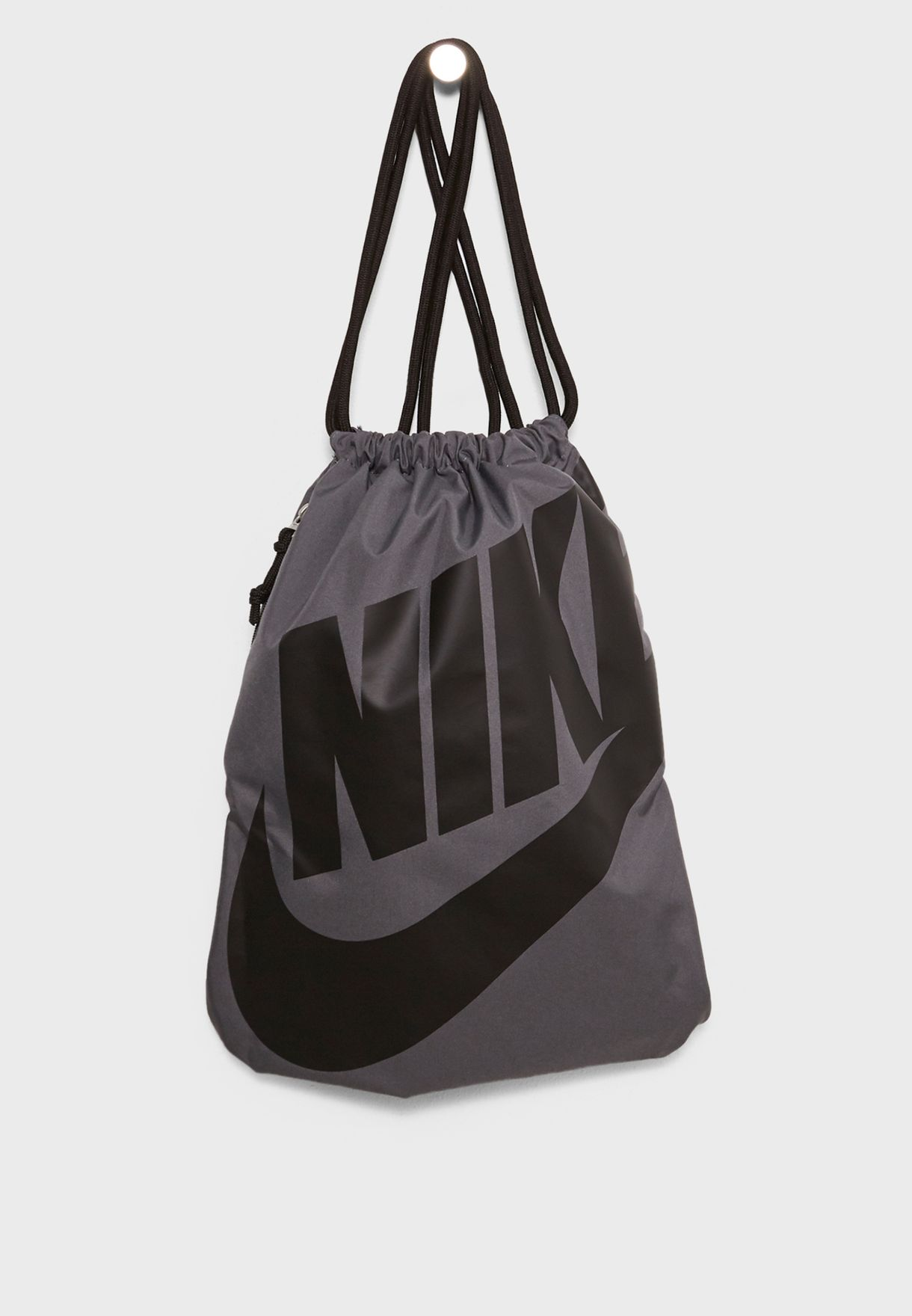 603b615a7ad4 Shop Nike grey Heritage Gymsack BA5351-009 for Men in Qatar - NI727AC50HFP