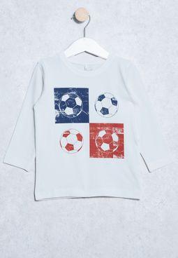 Kids Vuxes Printed T-Shirt