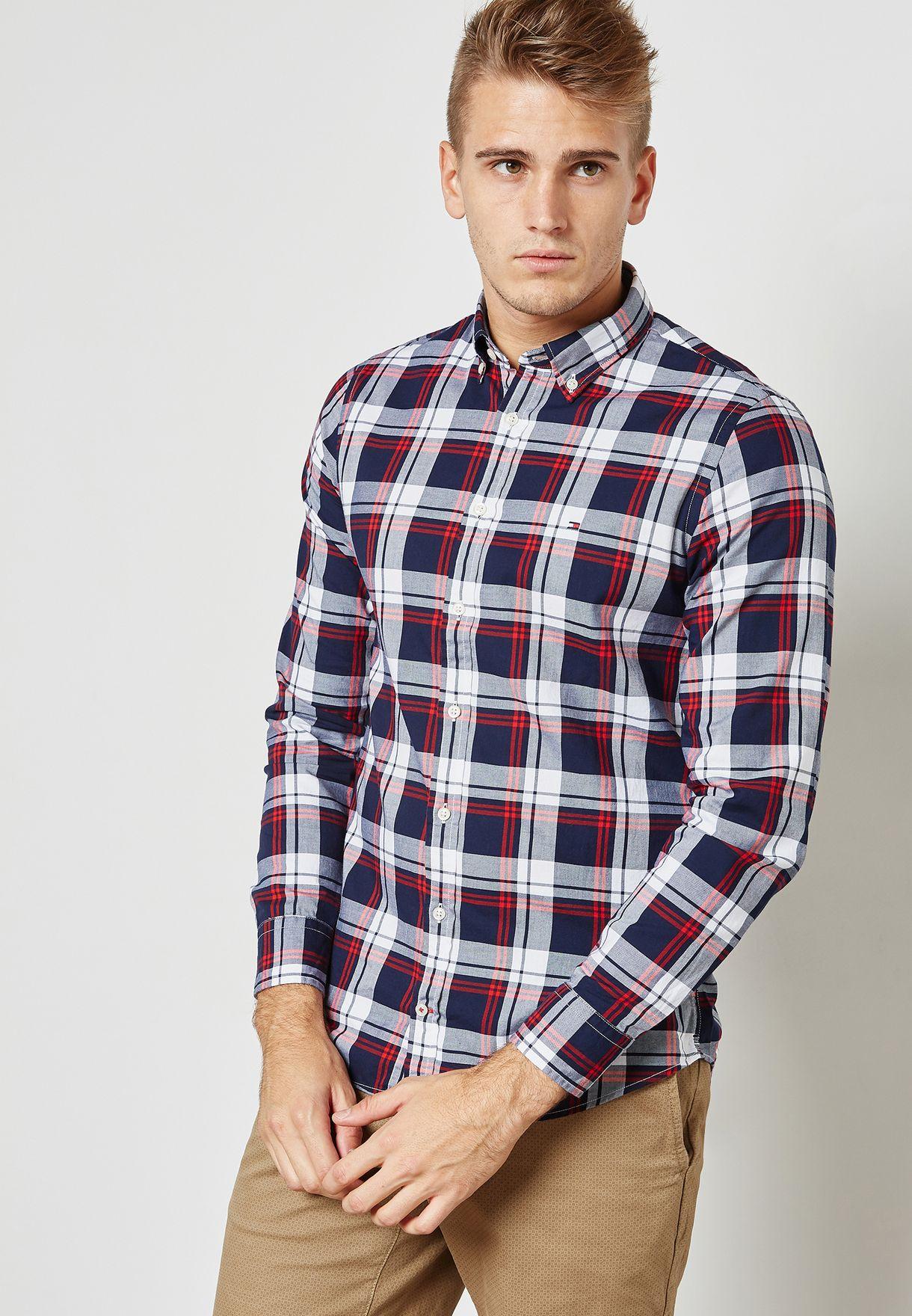 Inger Check Print Shirt