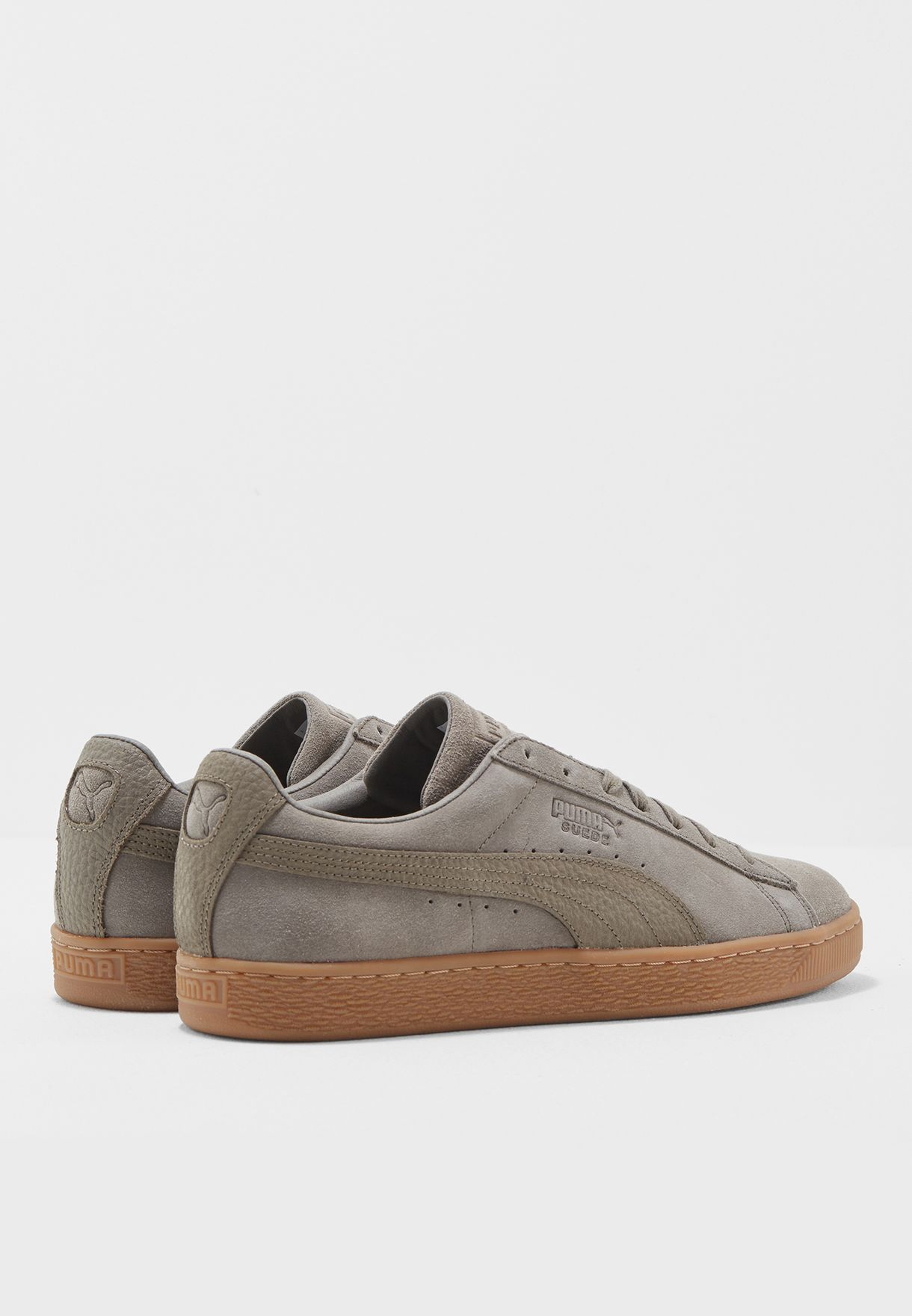 f9df4138084 Shop PUMA browns Suede Classic Natural Warmth 36386901 for Men in ...