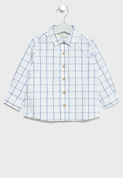 Infant Checked Shirt