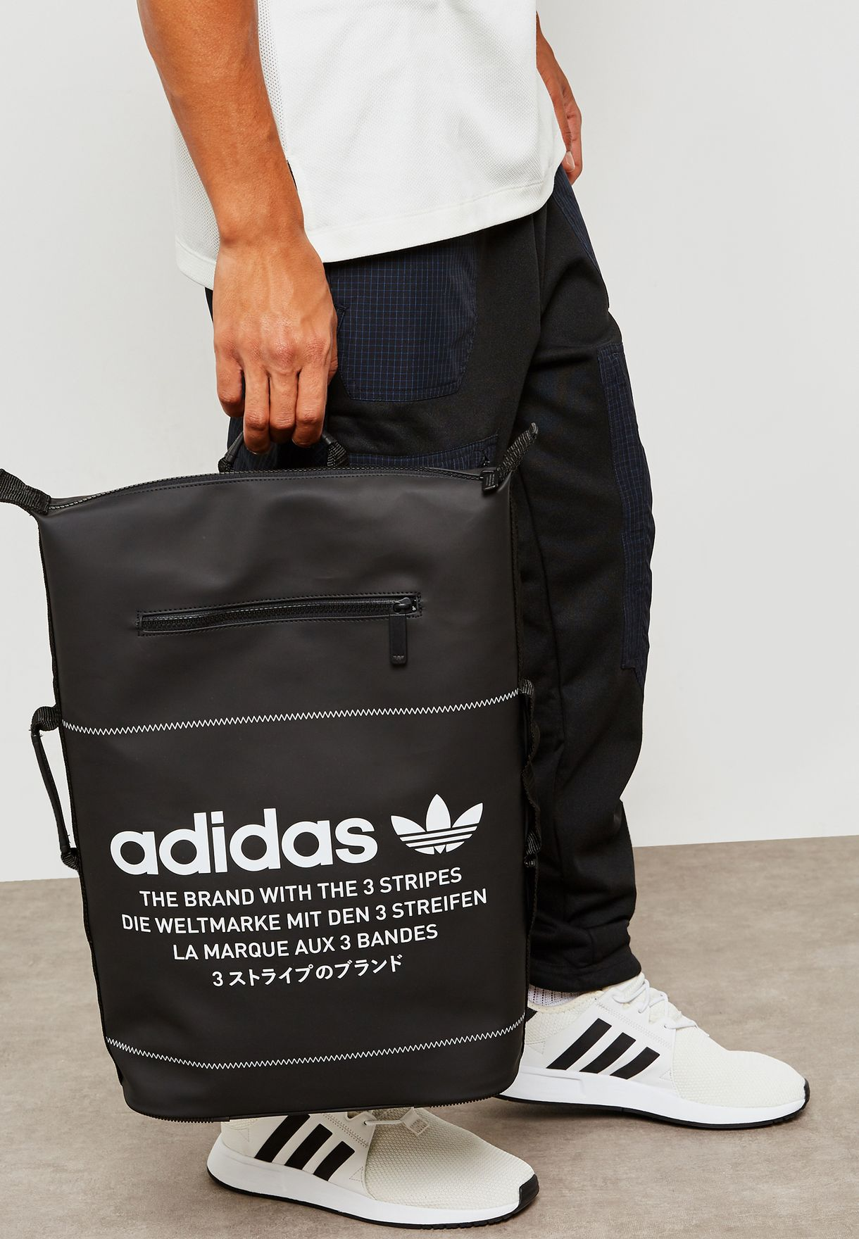 promo code b27ce 67a7b Shop adidas Originals black NMD Backpack DH3097 for Men in Saudi ...