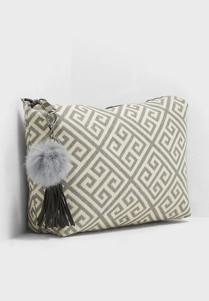 Square Swirl Wash Bag