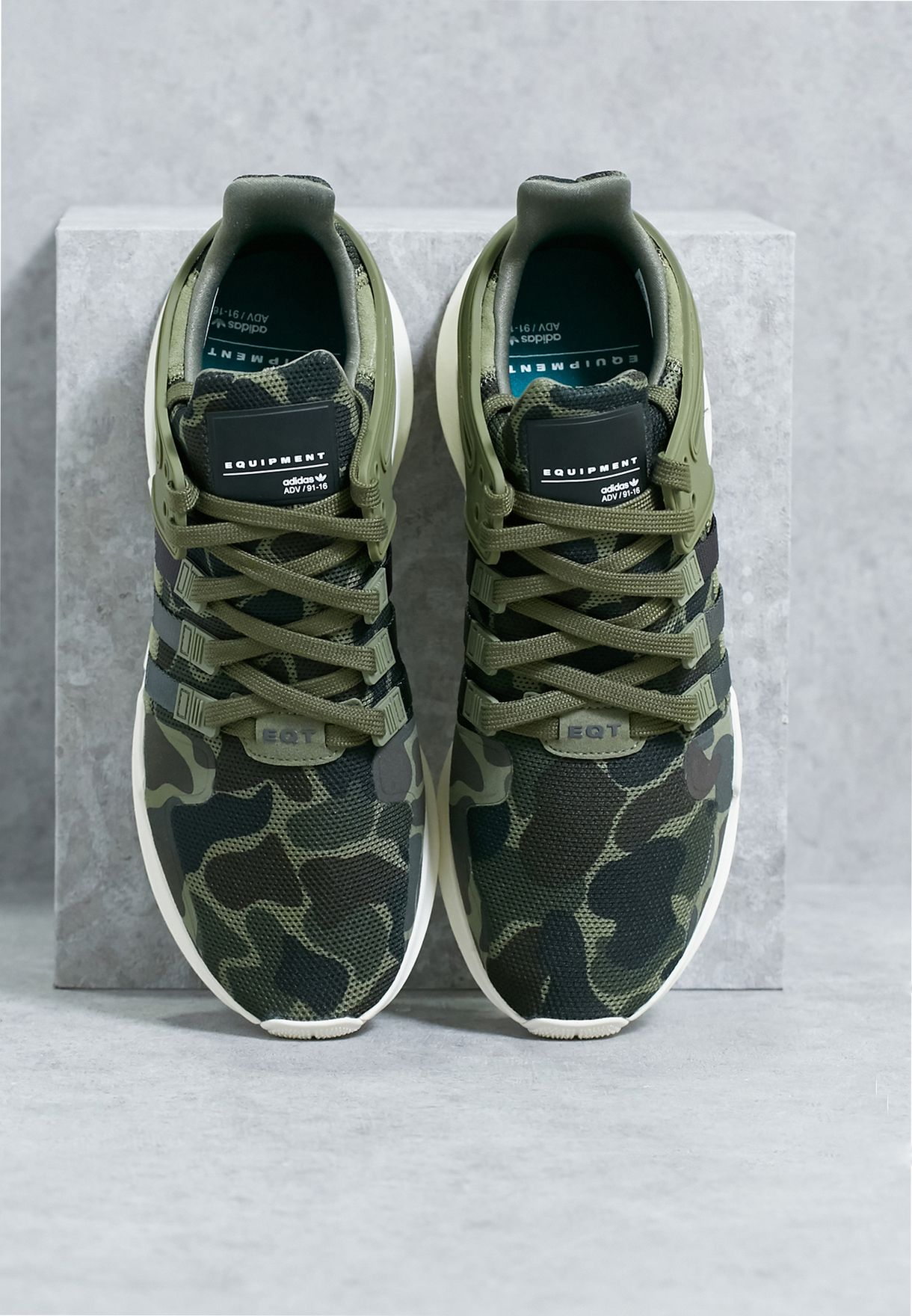 finest selection 72912 4b984 Shop adidas Originals green Eqt Support Adv BB1307 for Men in UAE ...