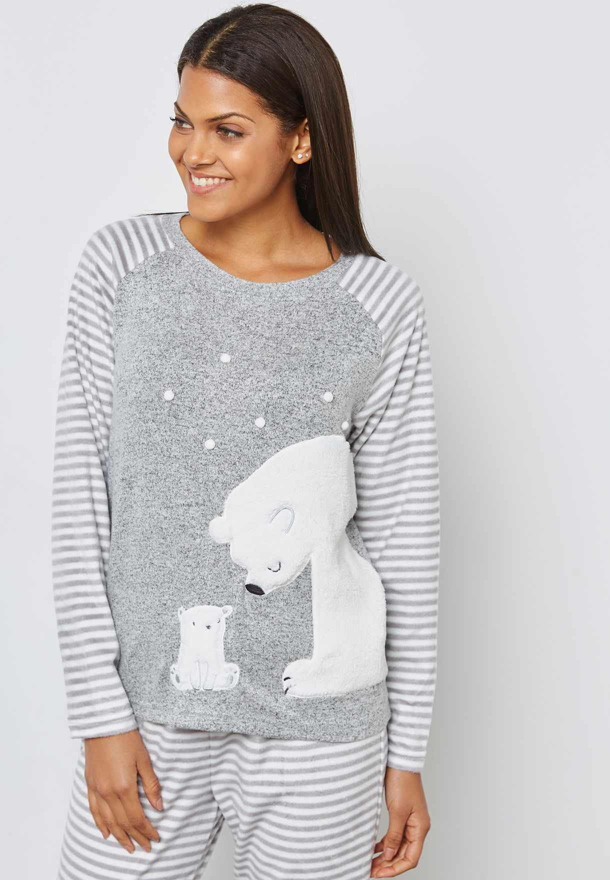 Polar Bear Pyjama Set