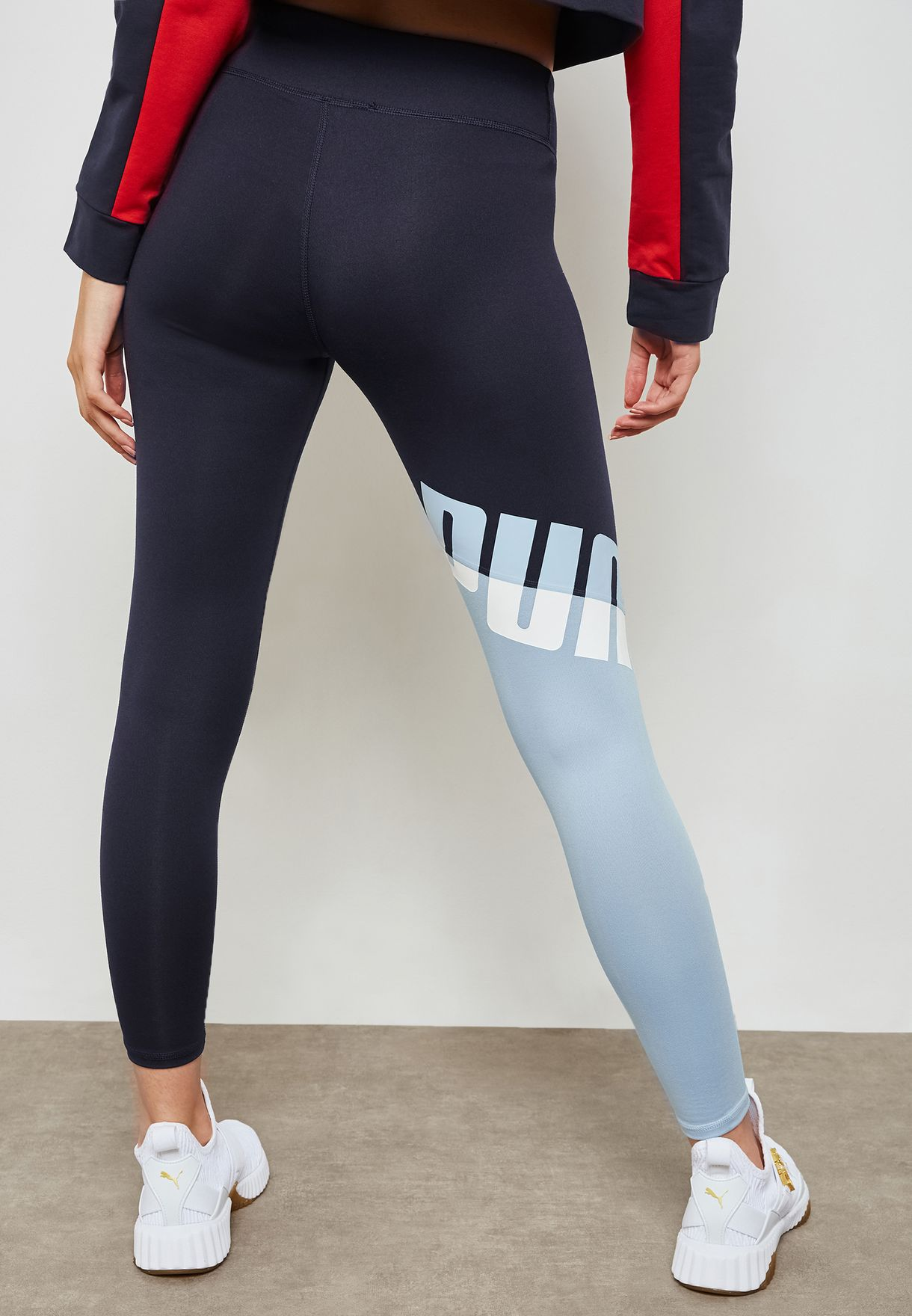 Shop PUMA navy A.C.E All Me 7 8 Leggings 51698102 for Women in UAE ... af551d936