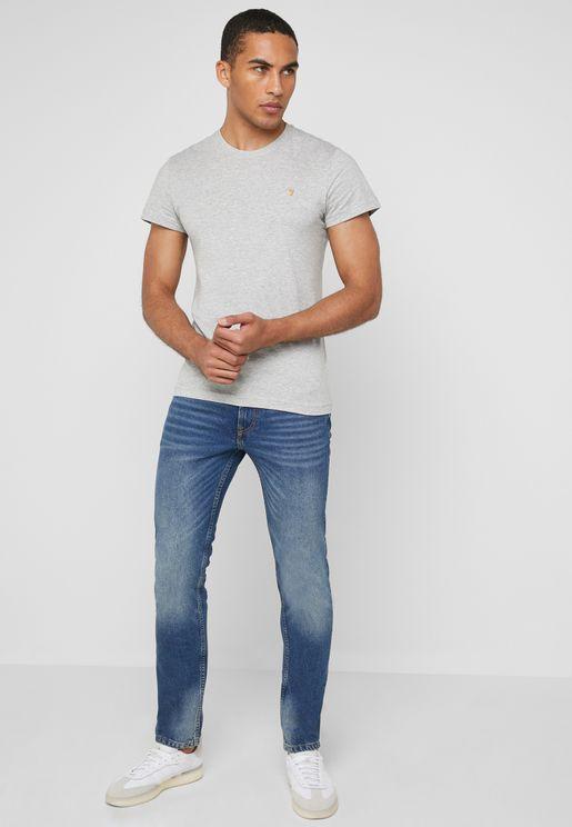 Washed Regular Fit Jeans