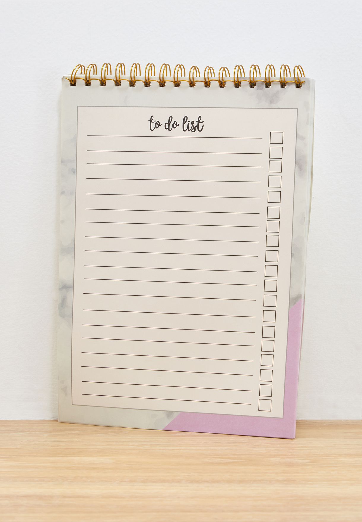 A4 Marble To Do List