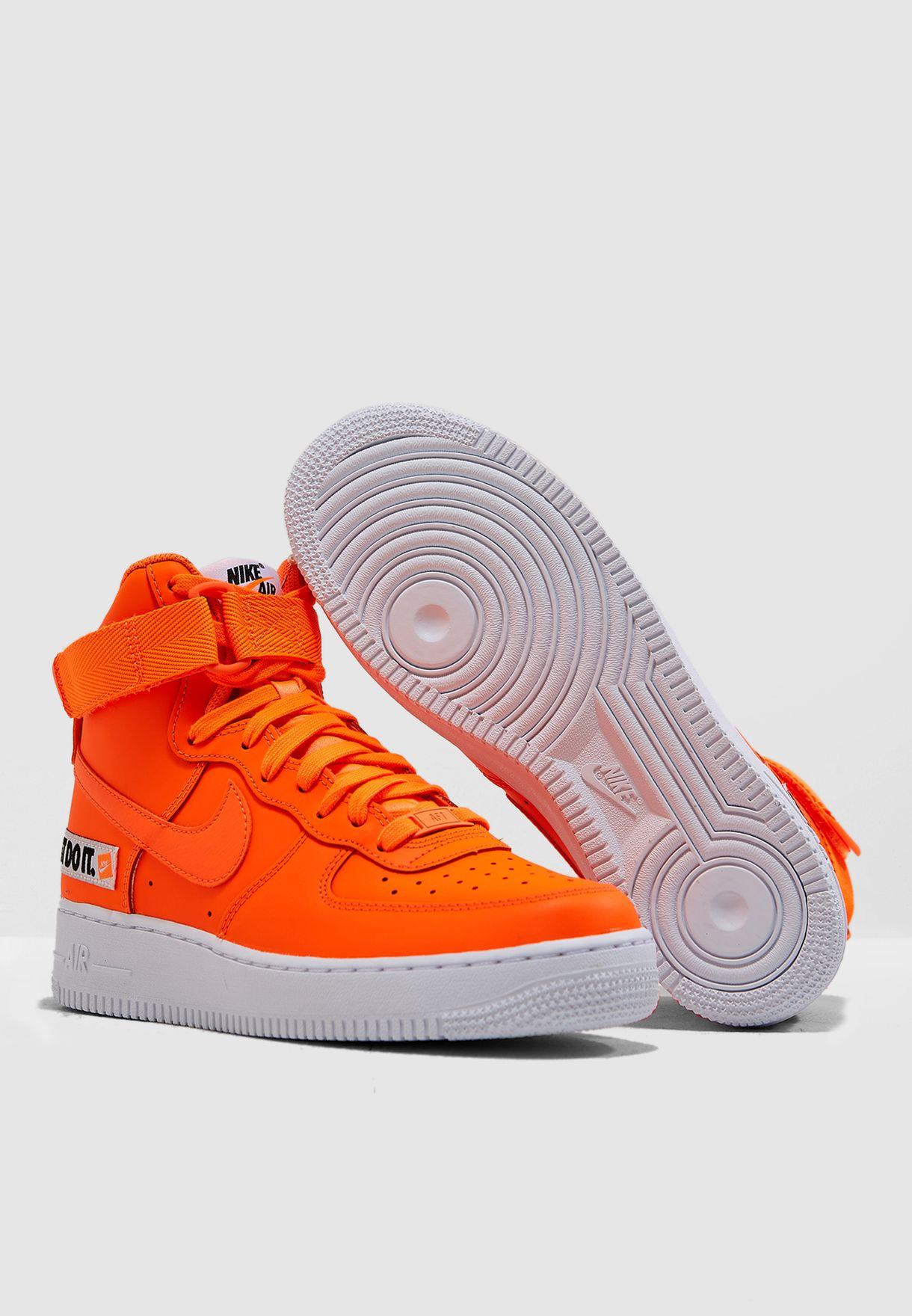 Shop Nike orange Air Force 1 Hi LX BQ7925-800 for Women in Qatar ... eaac99c50