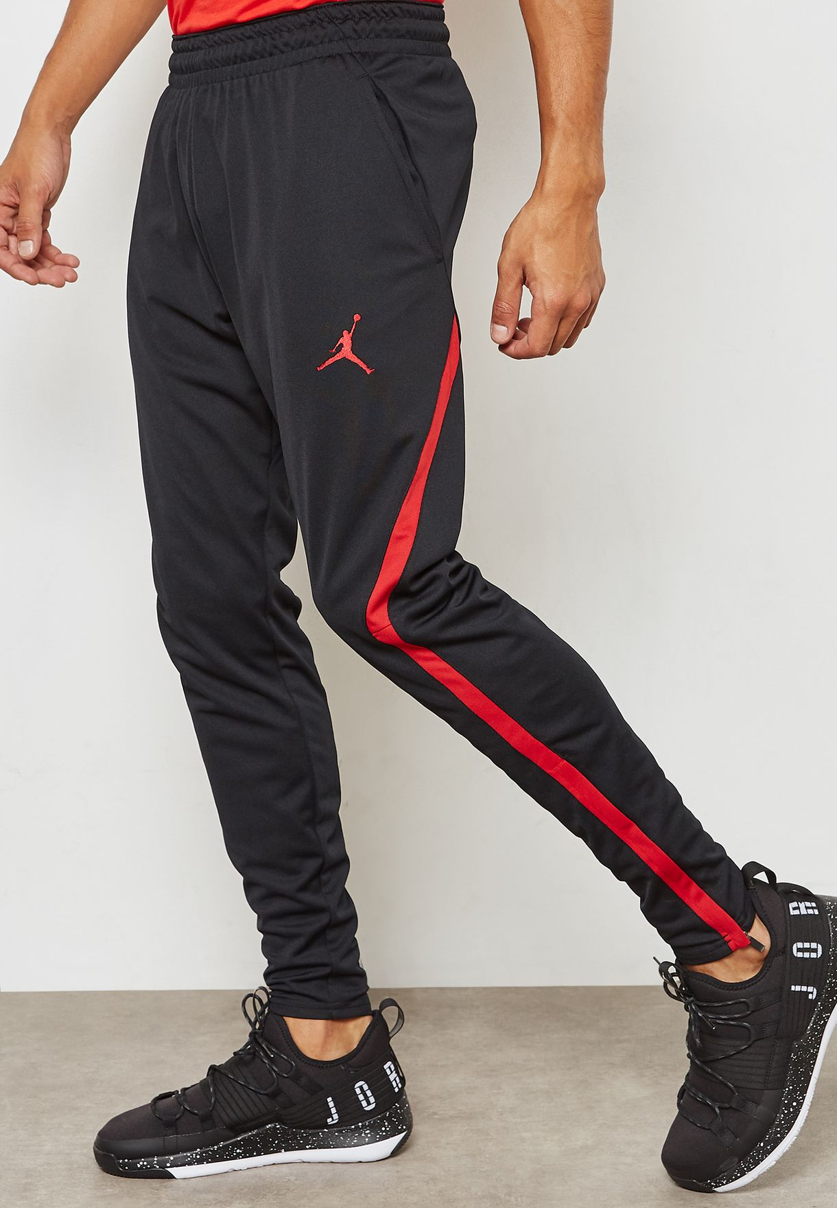 e4d62cb92a6 Shop Nike black Jordan Dri-FIT 23 Alpha Sweatpants 889711-011 for ...