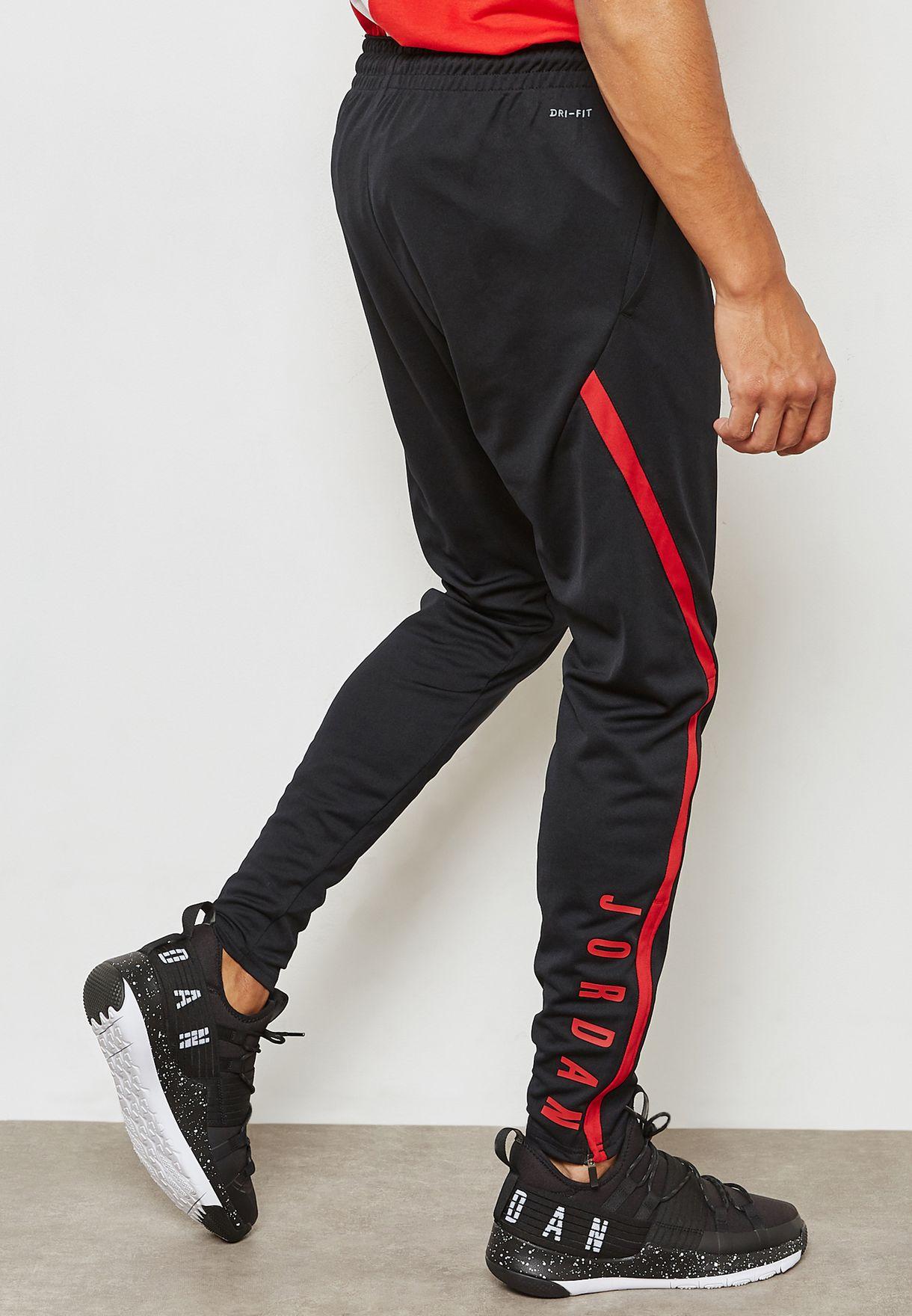 4041082ba33a Shop Nike black Jordan Dri-FIT 23 Alpha Sweatpants 889711-011 for ...