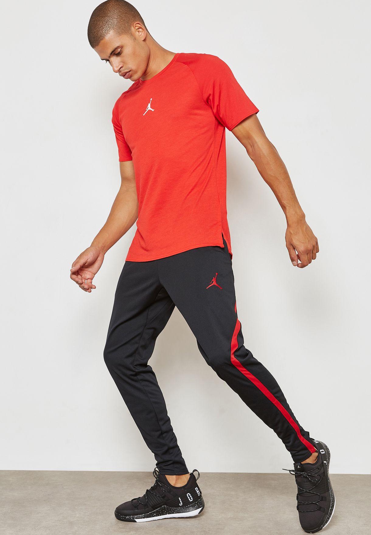 23f9fc80762a4e Shop Nike black Jordan Dri-FIT 23 Alpha Sweatpants 889711-011 for ...