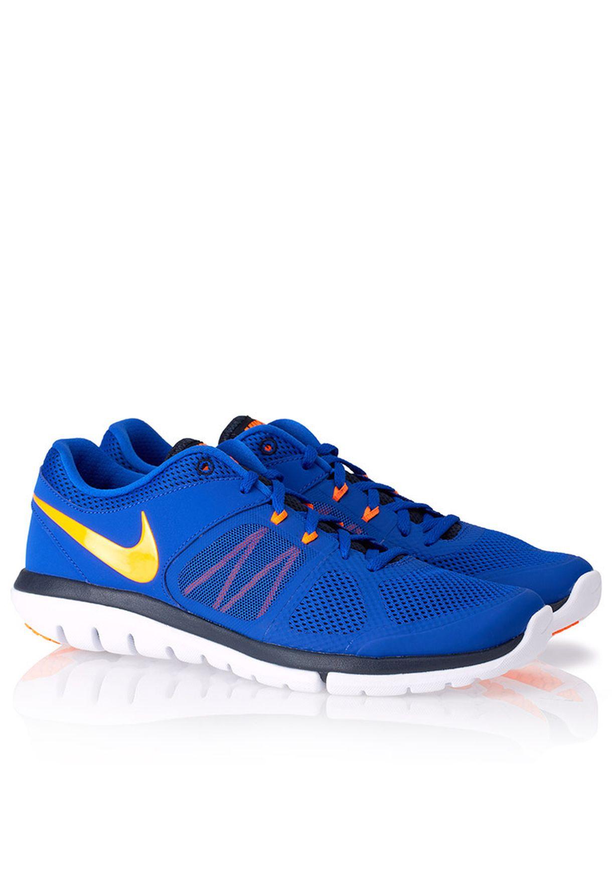 c672d7d4bfcd Shop Nike blue Flex 2014 RN MSL 642800-406 for Men in Qatar ...