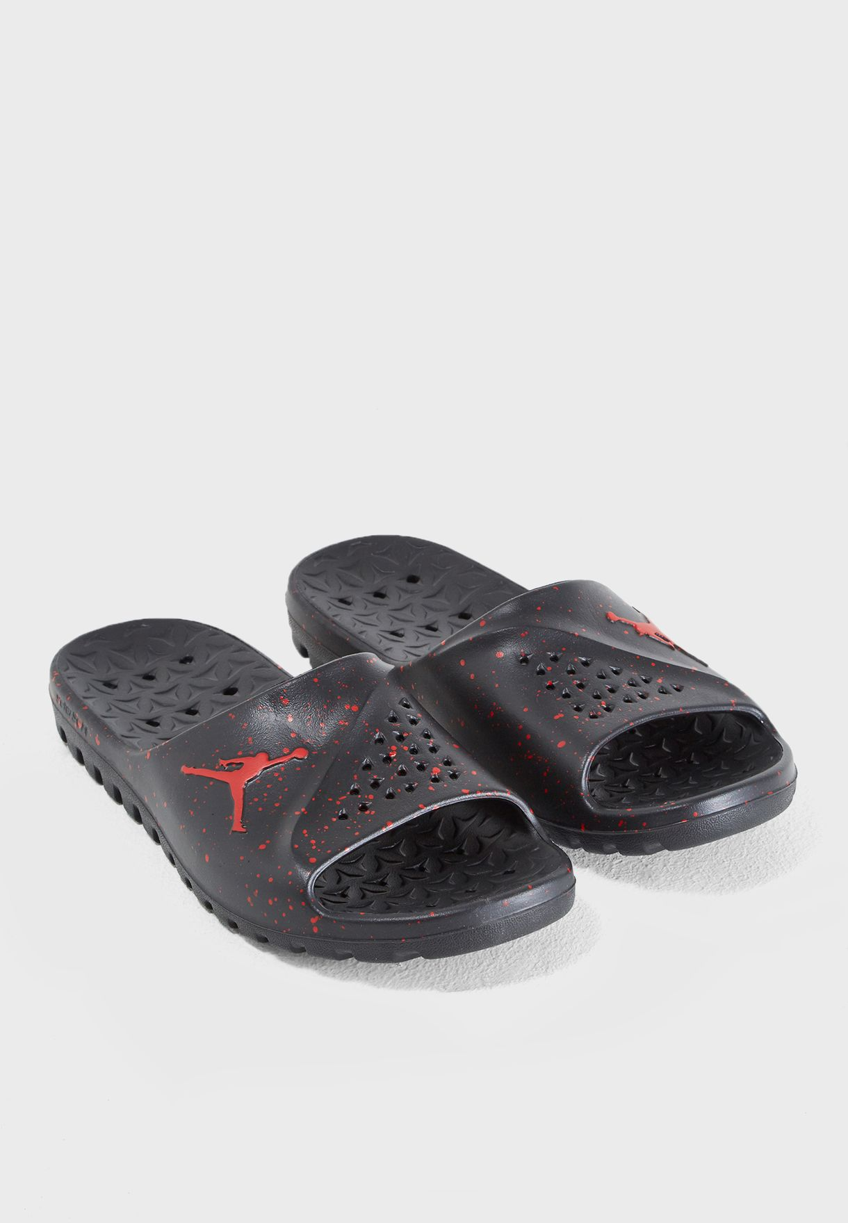 b5666b9c631be Shop Nike black Jordan Super Fly Team Slide 716985-062 for Men in ...