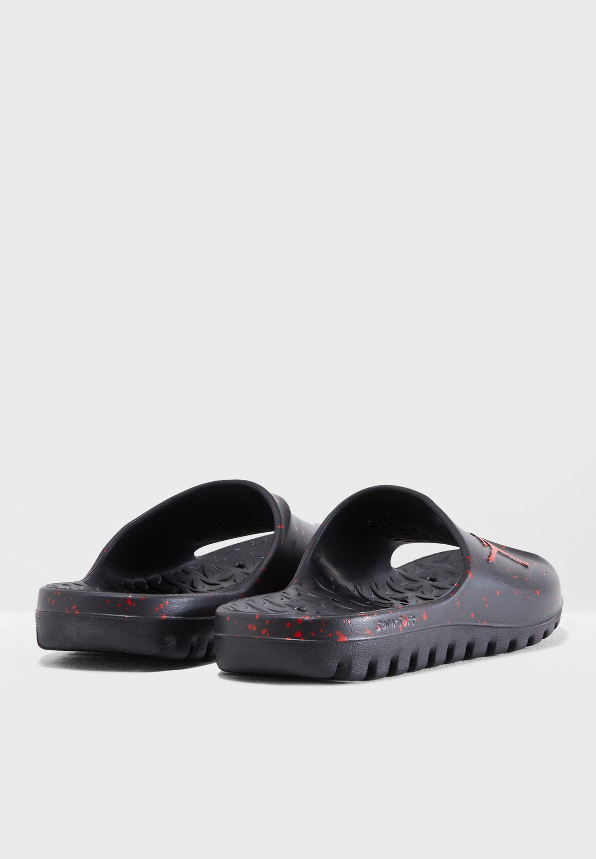 0e061cbb700 Shop Nike black Jordan Super Fly Team Slide 716985-062 for Men in ...