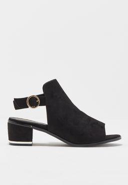 High Vamp Sandals