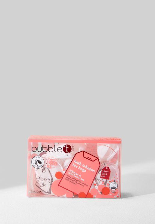 Hibiscus & Acai Berry Tea Restoring Bath T-bags