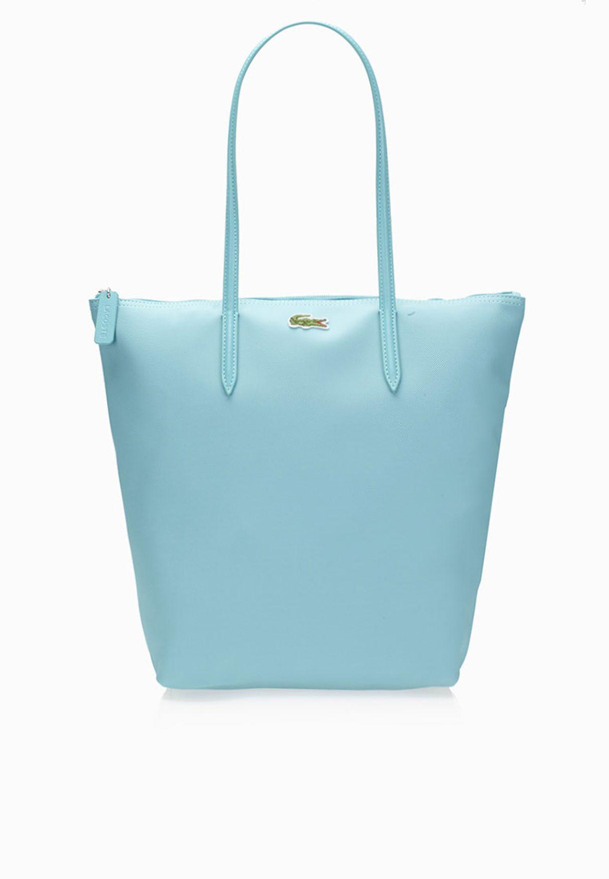 e53a0c4cba9 Shop Lacoste blue Vertical Tote Bag NF0647PO-098 for Women in UAE ...