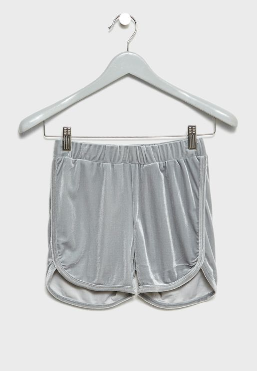 Teen Velvet Shorts