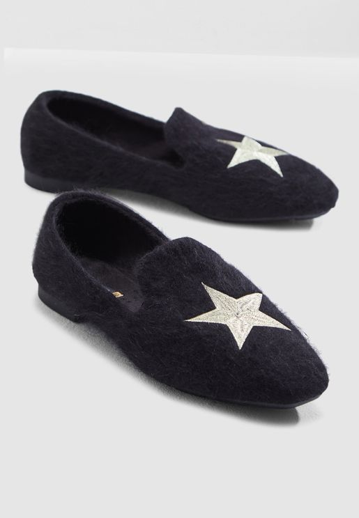 Embroidered Loafer