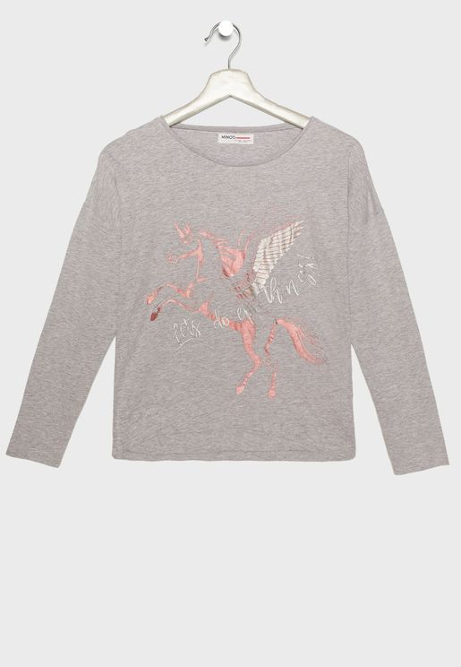 Teen Unicorn T-Shirt