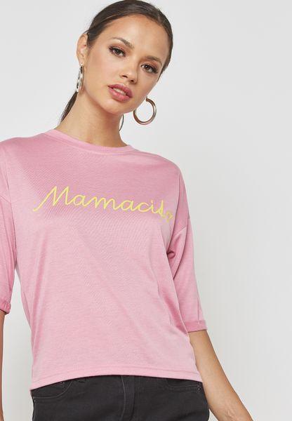 Mamacita Slogan Tshirt
