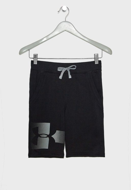 Youth Rival Graphic Fleece Shorts