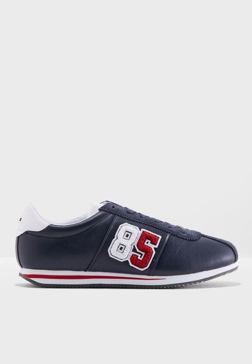 Retro Logo Sneakers