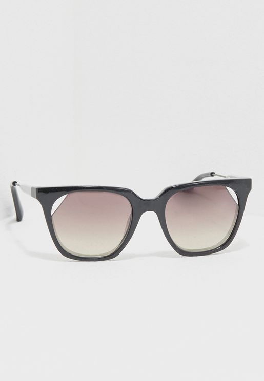 Cut Lens Sunglasses
