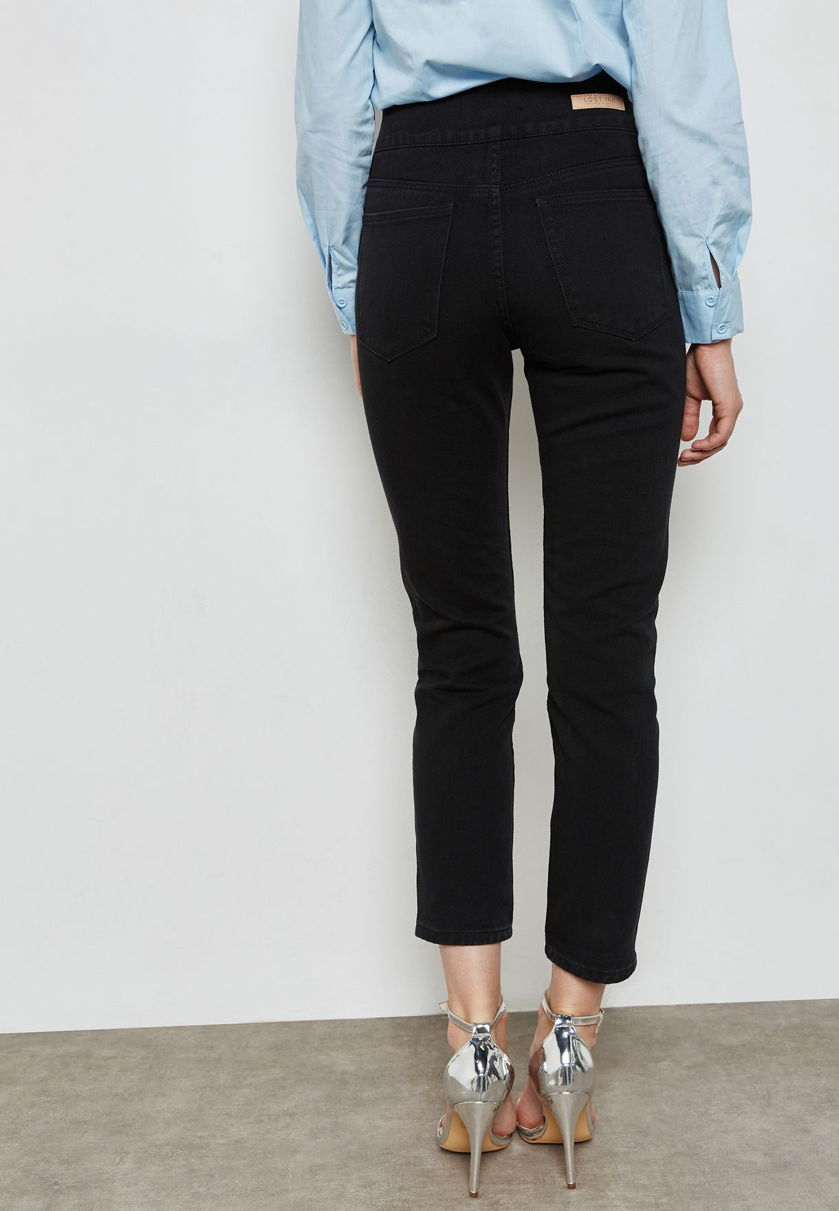 Skinny jeans with Embellished Bands