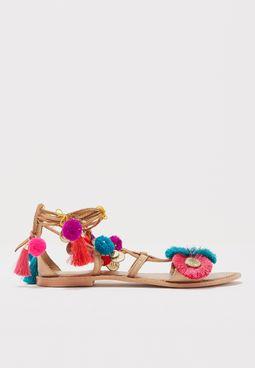 Honey Coin Sandal