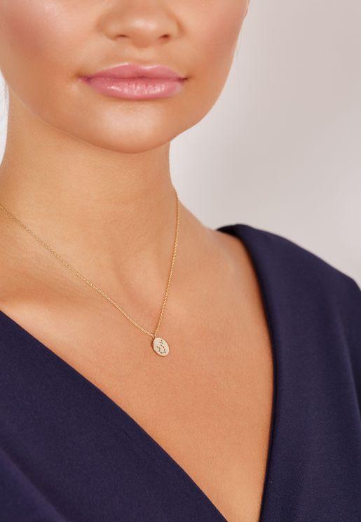 Gift Envelope Aquarius Constellation Necklace