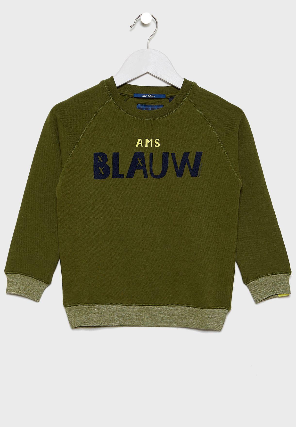 Little Slogan Sweater