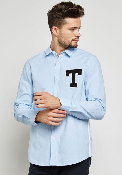 Taped Oxford Shirt