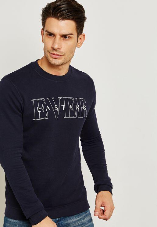 Ever Lasting Print Sweatshirt